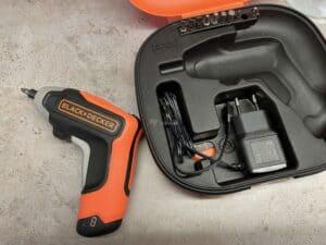 test aku šroubováku Black & Decker BCF611CK - nabíjení a výdrž baterie
