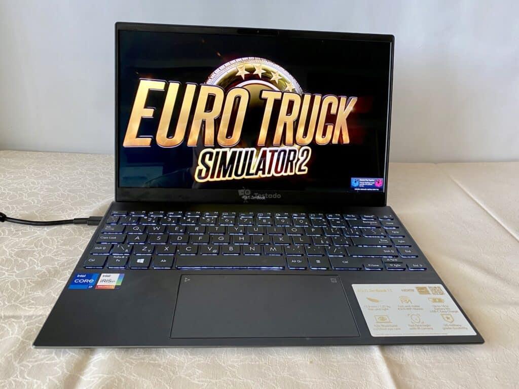recenze Asus ZenBook 13 OLED UX325 - test výkonu