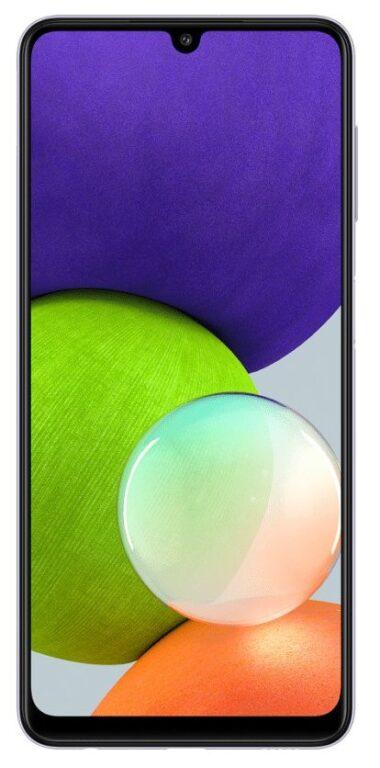 Samsung Galaxy A22 - test displeje