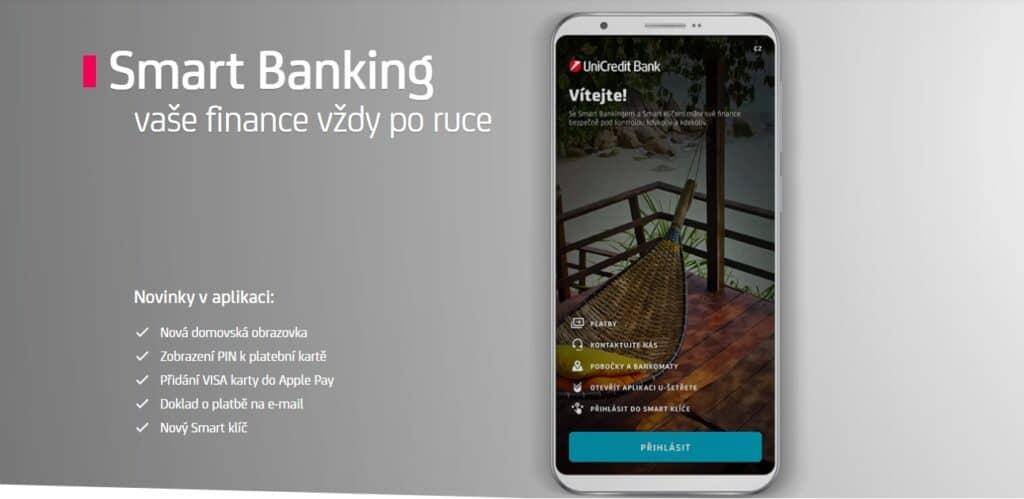 Internetové bankovnictví a mobilní aplikace