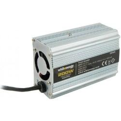 měniče Whitenergy 06578 24V230V 200W USB