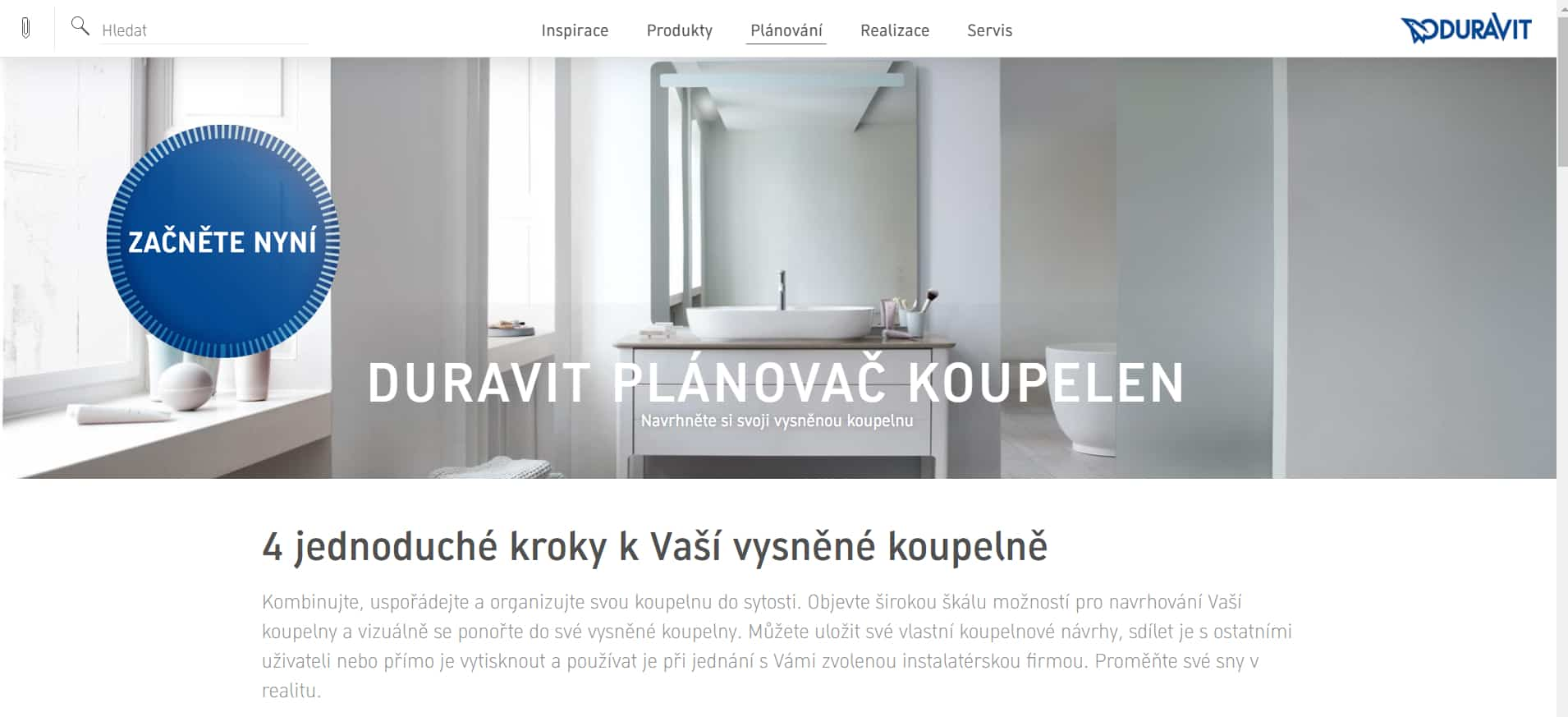Duravit plánovač koupelen online - recenze