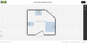 Ikea 3D plánovač koupelen půdorys recenze