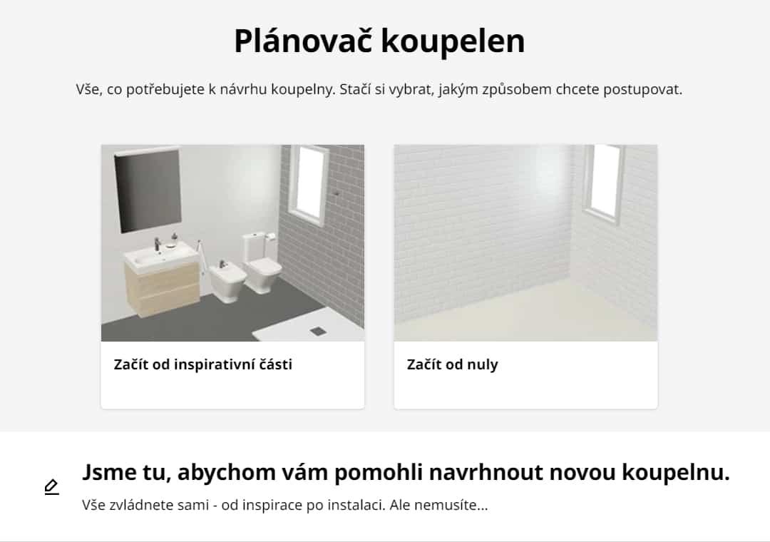 Ikea plánovač koupelen recenze