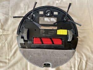 test robotického vysavače s mopem Concept VR3210