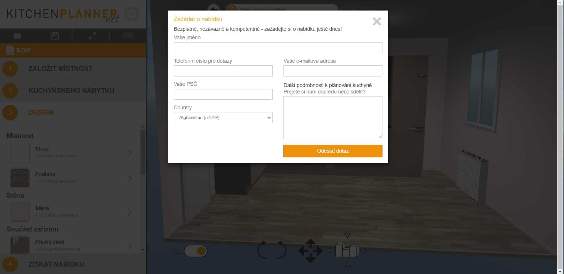 KitchenPlanner.net - online konfigurátor kuchyní recenze