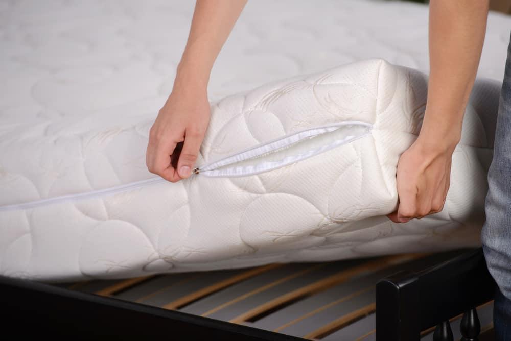 Jak vyprat potah na matraci rady
