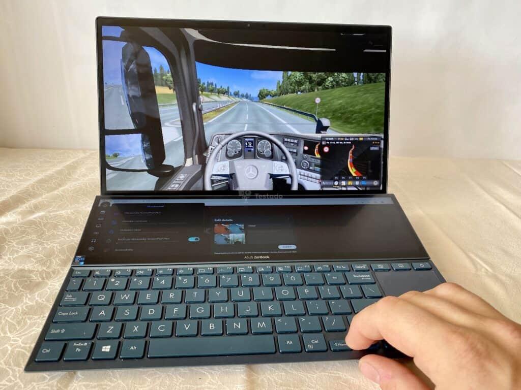 testy Asus ZenBook Duo 14 UX 482E
