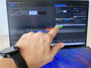 Recenze Asus ZenBook Duo 14 UX 482E - test displeje