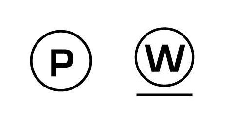 Symboly čištění prádla - informace