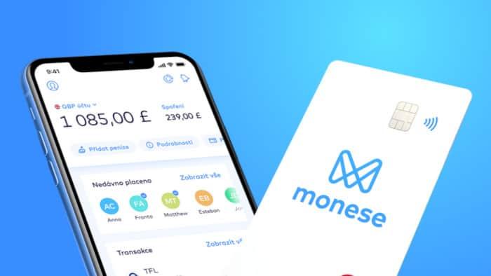 Účet na Monese recenze
