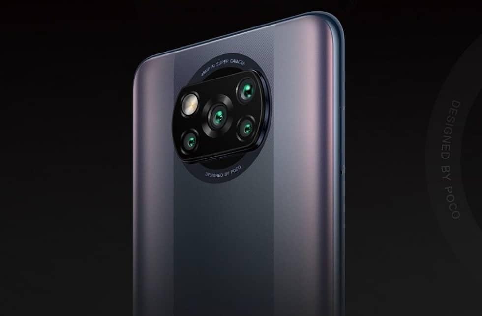 Fotoaparát a kamera u Poco X3 verze Pro