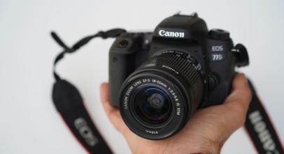 Recenze Canon EOS 77D