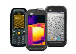 Mobilní telefony Caterpillar – recenze mobilů CAT