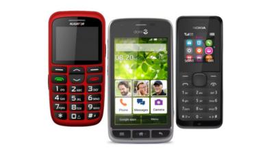 Nejlepší mobilní telefony pro seniory roku 2018