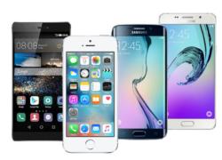 Srovnání Apple iPhone 5S vs. Samsung Galaxy S6 vs. Huawei P8 vs. Samsung Galaxy A5 (2016)